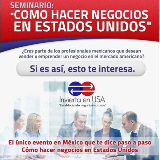 Seminario como hacer negocios en Estados Unidos