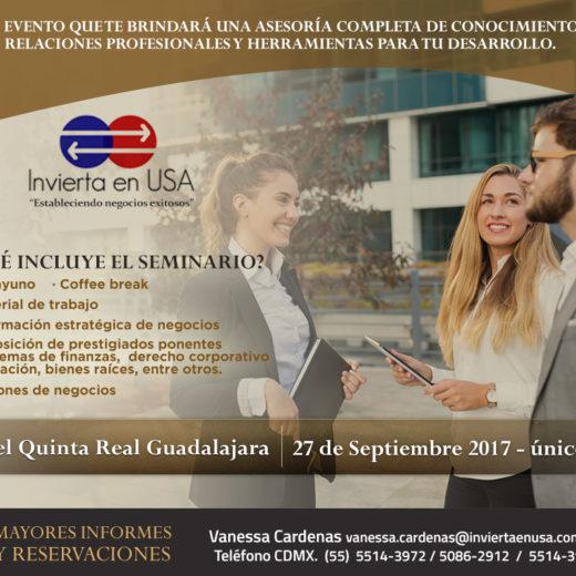 Comercio Internacional: Como hacer negocios en Estados Unidos/ Guadalajara 27 Septiembre