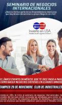 Como hacer negocio con Estados Unidos, Tampico, Tamps. Nov 29