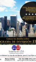 Visa EB5 Residencia permanente en Estados Unidos